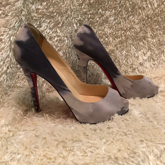 Christian Louboutin Woodstock Very Prive Pumps free shipping pictures T1b9Gg